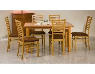 Деревянный стол Emil шпон ольха