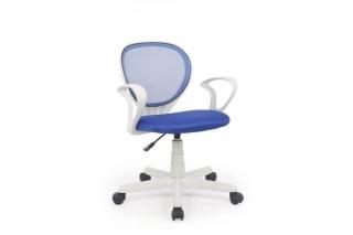 Кресло Adrian голубой-серый