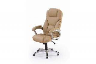Кресло DESMOND.Цвет бежевый, черный, темно-коричневый, серый Halmar