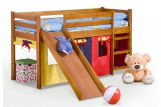 Кровать одноместная с горкой NEO PLUS