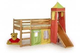 Кровать одинарная с горкой FLO