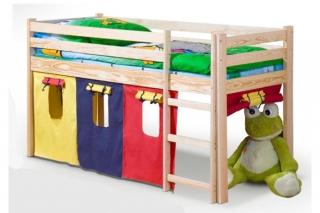 Детская функцыональная Кровать NEO сосна
