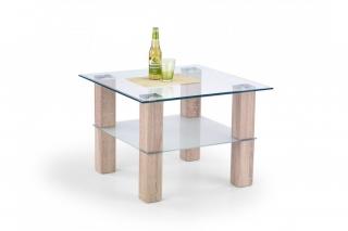 AMELIA столик квадрат дуб сонома