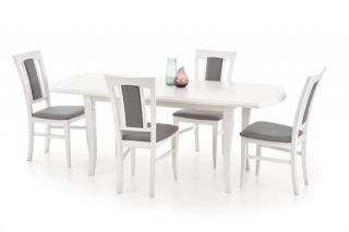 Деревянный стол Halmar Fryderyk 160-200 белый