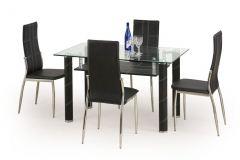 Стеклянный стол Gavin чёрный