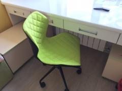 MATRIX детское кресло HALMAR черный-зеленый цвет
