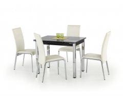 Стеклянный стол Logan чёрный
