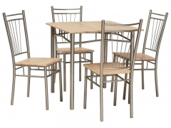 Комплект Signal Fit стол + 4 стула дуб Сонома