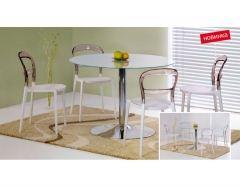 Стеклянный стол Modest матовый