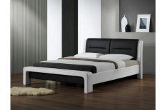Кровать CASSANDRA 120 бело-черное