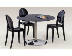 Стеклянный стол Modest чёрный