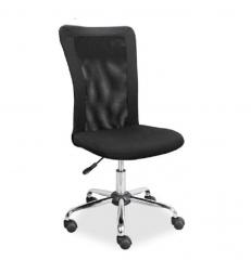 Кресло офисное Q-122 фабрика Signal цвет черный