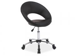 Кресло барне Q-128 фабрика Signal цвет черный