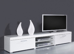 SAMBA тумба ТВ белый-белый глянец CAMA