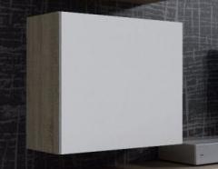 VIGO пенал навесной квадратный сонома-белый глянец CAMA