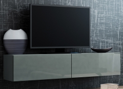 VIGO тумба ТВ 140 серый-серый глянец CAMA
