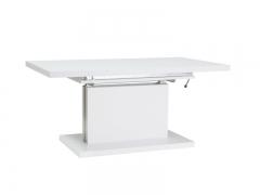 Стол раздвижной  AMBER белый цвет