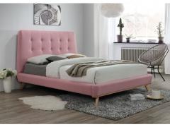 Кровать DONA 160X200 розовый фабрика Signal