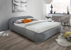 Кровать PANDORA ткань серый 160X200 фабрика Signal