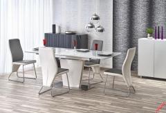 Обеденный стол PLATON Halmar 160-200-90-76 cm Белый