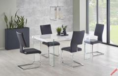 Обеденный стол MILTON Halmar 160-90-76 cm Белый