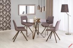 Обеденный стол LUNGO Halmar 120-76 cm Коричневый