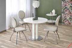 Обеденный стол ATTICUS Halmar 110-76 cm Белый
