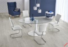 Обеденный стол CORAL Halmar 180-100-76 cm Белый