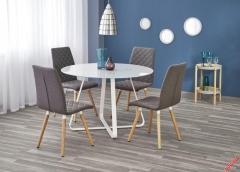 Обеденный стол LOOPER Halmar 115-76 cm Белый