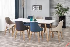 Обеденный стол KAJETAN Halmar 150-200 см Белый