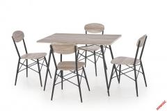 КОМПЛЕКТ ОБЕДЕННЫЙ KABIR 4 стула-стол HALMAR