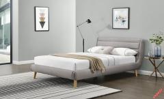 Кровать Halmar ELANDA 160 серый