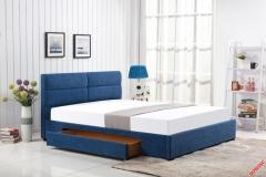 Кровать Halmar MERIDA 160 голубой