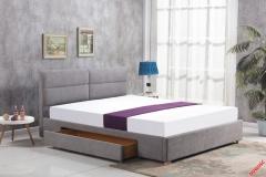 Кровать Halmar MERIDA 160 светло-серый
