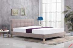 Кровать Halmar OXFORD 160 Беж