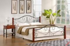 Двуспальная кровать Halmar Violetta 140-200
