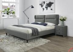 Кровать Halmar SANTINO 160-200 серый