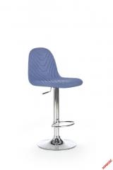 Барный стул HALMAR H-82 темно-синий