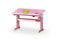 Письменный стол CECILIA Halmar розовый/белый