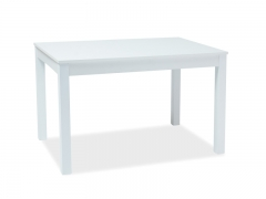 Новинка! Стол обеденный Signal Prism 120(160)x80 Белый
