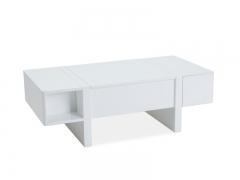 Столик журнальный Signal Mido 120х60 Белый