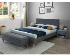 Новинка!Кровать Signal Azurro 160х200 серый дуб