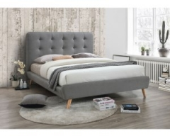 Кровать Signal Tiffany 160х200 серый дуб