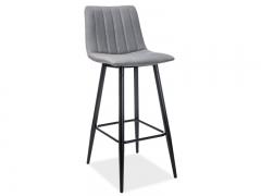 Новинка!Барный стул Signal Alan H-1 черны серый
