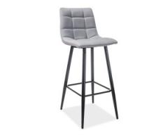 Новинка!Барный стул Signal Spice H-1 черны серый