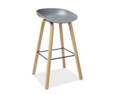 Барный стул Signal Sting Серый Дуб
