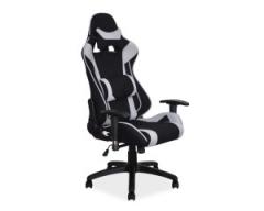Кресло поворотное Signal Viper черный серый