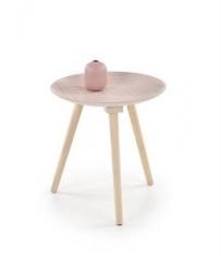 Новинка!Журнальный столик HALMAR BINGO светло-розовый