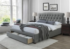 Новинка!Кровать Halmar AVANTI 160 серый