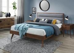 Новинка!Кровать Halmar ORLANDO 160 серый
